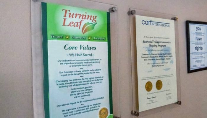 Core Values And CARF Accreditation